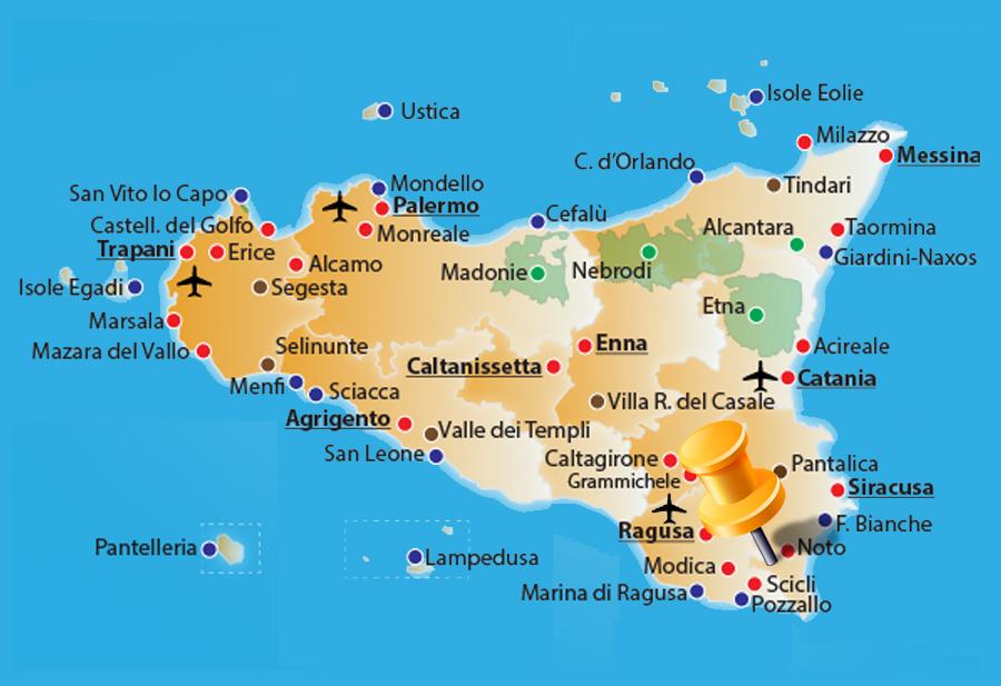 Cartina Noto Sicilia.Sole Barocco Rosolini